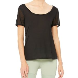 *New with Tags* Alo Yoga Black Top